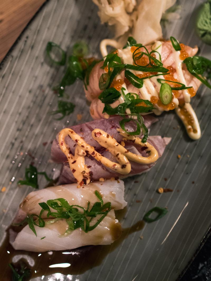 sticks og sushi