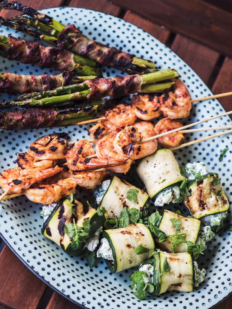 grill menu opskrifter