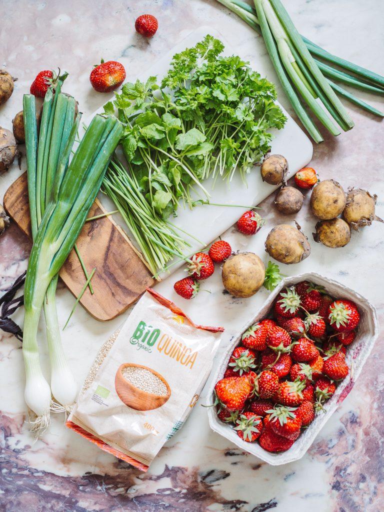 sommerråvarer kartoffelsalat